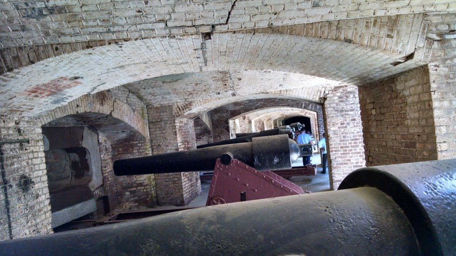 Fort Sumter, Charleston SC, Southern Hospitality 2016