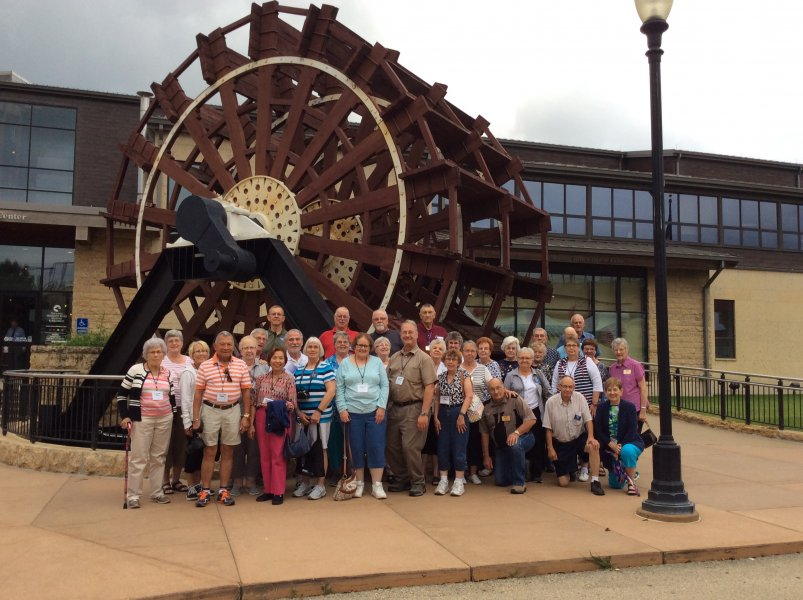 Summer Mystery #7 at the Mississippi River Museum while on our historic progressive dinner tour!