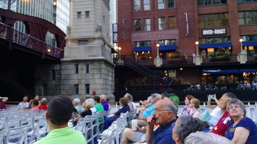 River and lake cruise, Chicago, Summer Mystery #7