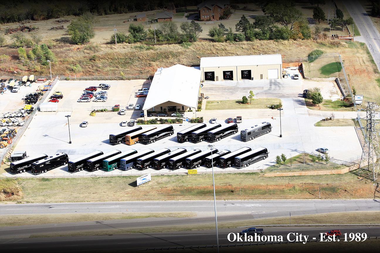 Charter bus Oklahoma City
