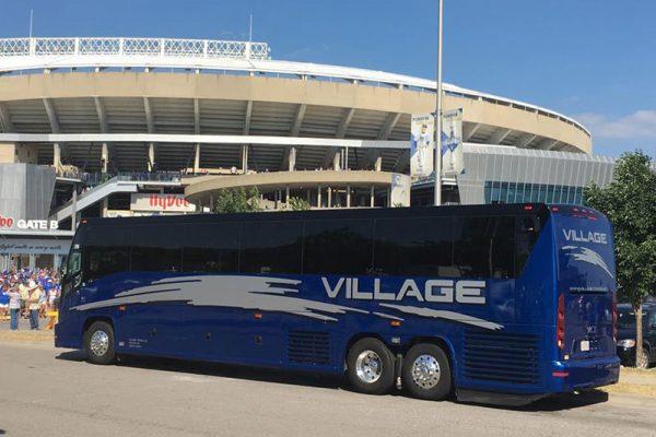 Charter bus tour