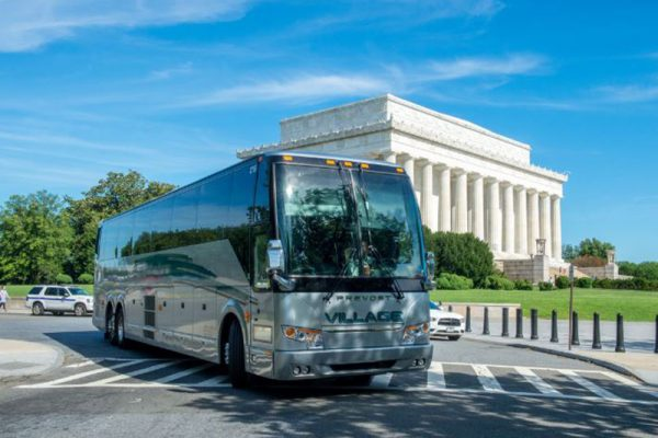 Private motorcoach rental