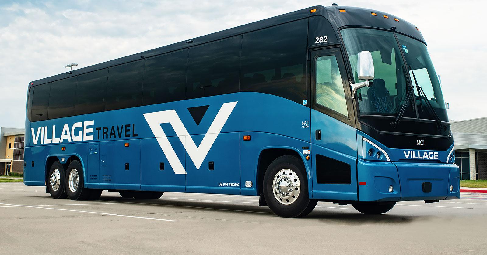 Charter bus Kansas