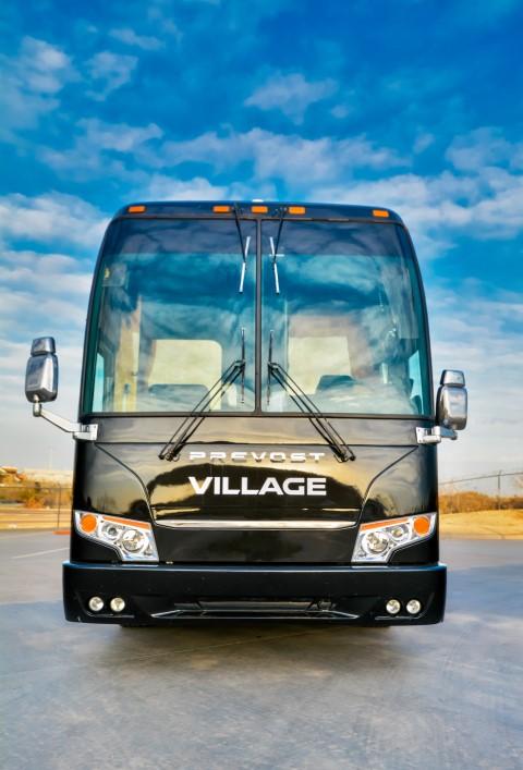 Charter bus Colorado